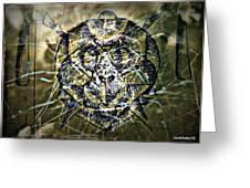 Arachnids Greeting Card by Paulo Zerbato