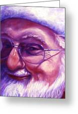 Are You Sure You Have Been Nice Greeting Card by Shannon Grissom