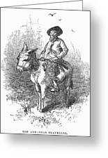 Arkansas Traveler, 1878 Greeting Card by Granger
