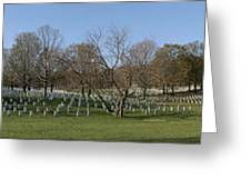 Arlington National Cemetery Panorama 1 Greeting Card by Metro DC Photography