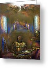 Armor Of God Greeting Card by Tommy  Winn
