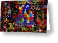 Art 5 Greeting Card by Andy  Mercer