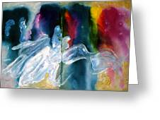 Artist Palette Greeting Card by Don  Wright