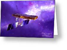 Artists Concept Of Space Interferometry Greeting Card by Stocktrek Images