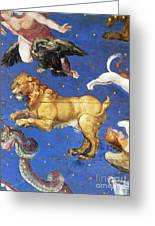 Artwork In Villa Farnese, Italy Greeting Card by Photo Researchers