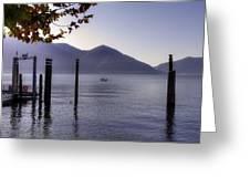 Ascona - Lago Maggiore Greeting Card by Joana Kruse
