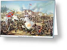 Assault On Fort Sanders Greeting Card by Granger