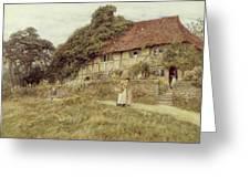 At Stedham Near Midhurst Greeting Card by Helen Allingham