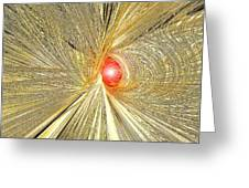 At The End Of The Tunnel Greeting Card by Michael Durst