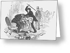 Attack On Sumner, 1856 Greeting Card by Granger