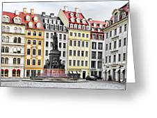 Augustus II The Strong -  A Legend Lives On In Dresden Greeting Card by Christine Till