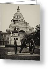 Austin Capitol Greeting Card by Lisa  Spencer
