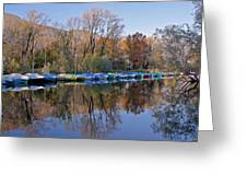 autum at the Lake Maggiore Greeting Card by Joana Kruse