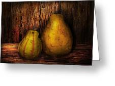 Autumn - Gourd - A Pair Of Squash  Greeting Card by Mike Savad