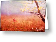 Autumn Dreams Greeting Card by Darren Fisher