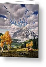 Autumn Echos Greeting Card by Jerry LoFaro