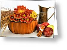 Autumn Fresh Greeting Card by Susan Smith