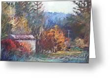 Autumn Glory Greeting Card by Pamela Pretty