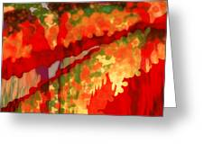 Autumn in the Piedmont Greeting Card by Patricia L Conklin
