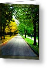 Autumn Is Comming Greeting Card by German Savchishen