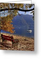 Autumn Greeting Card by Joana Kruse