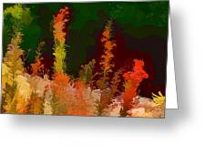 Autumn Pastel Greeting Card by Tom Prendergast