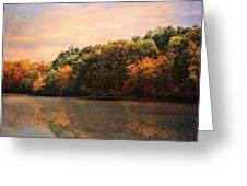 Autumn Reflections 2 Greeting Card by Jai Johnson