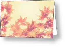 Autumn Sky Greeting Card by Amy Tyler