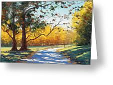 Autumn Splendor Greeting Card by Graham Gercken