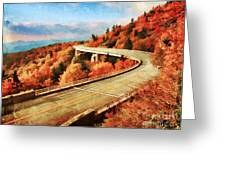 Autumn Views Greeting Card by Darren Fisher