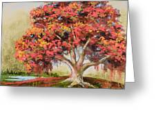 Autumn's Delight Greeting Card by Vic  Mastis