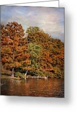 Autumn's Edge Greeting Card by Jai Johnson