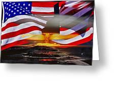 B2 Nuclear Power Greeting Card by Lamyl Hammoudi