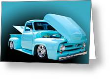 Baby Blue Greeting Card by Jim  Hatch