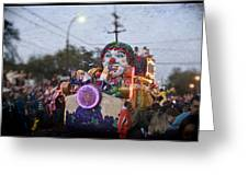 Bacchus In Bokeh Greeting Card by Ray Devlin