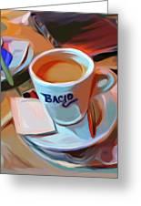 Bacio Greeting Card by Patti Siehien