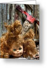 Bad Hair Day Greeting Card by JC Findley