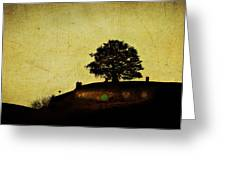Bagend At Dusk Greeting Card by Linde Townsend