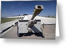 Baghdad, Iraq - An Iraqi Howitzer Sits Greeting Card by Terry Moore