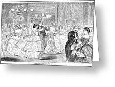 Ball, 1858 Greeting Card by Granger