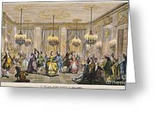 Ball, 18th Century Greeting Card by Granger