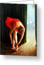 Ballerina 2 Greeting Card by Yoo Choong Yeul