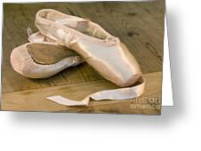 Ballet Shoes Greeting Card by Jane Rix