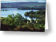 Ballindoon Abbey, Lough Arrow, County Greeting Card by The Irish Image Collection