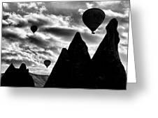 Ballons - 2 Greeting Card by Okan YILMAZ
