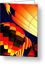 Balloon Glow 1 Greeting Card by Marty Koch