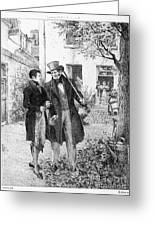Balzac: Le P�re Goriot Greeting Card by Granger