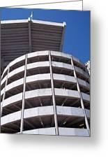 Bama Stadium Greeting Card by Vickie Viragh