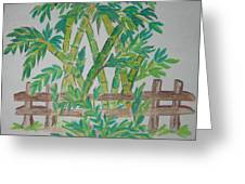 Bamboo Greeting Card by Deepa Padmanabhan
