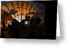 Band On The Run Greeting Card by Kantilal Patel